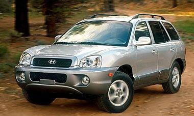 2003 Hyundai Santa Fe.