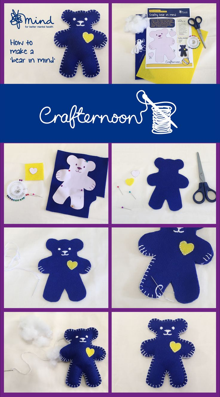 Download our Christmas Crafternoon pack! Find out how to hold a Mind Christmas Crafternoon and how to make our 'bear in mind'!