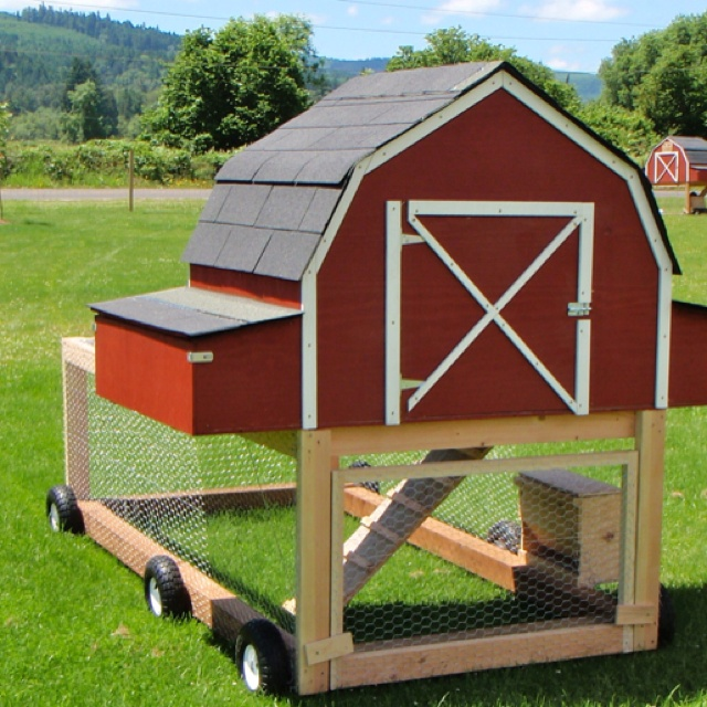 17 best images about chickens on pinterest hoop house for Portable hen house