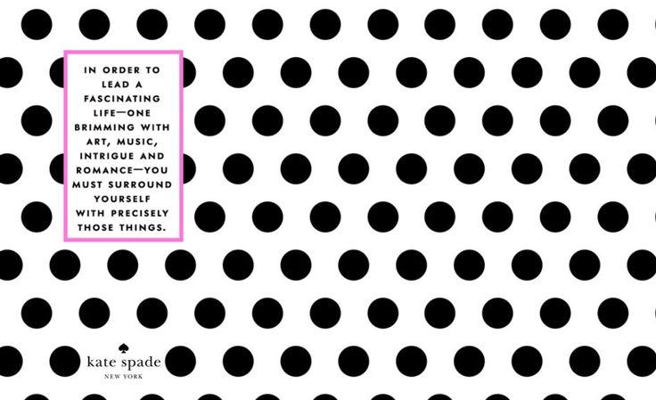 10 Best images about Kate Spade on Pinterest | Rose ...Kate Spade Pattern Desktop