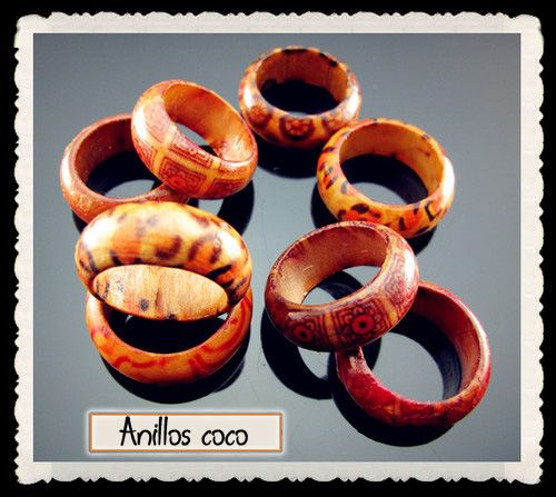 Anillos de coco - 0.50€ Ref: A100