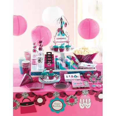 Looking for ideas for a pink zebra party? Or any other color and animal party? Clickon the link below and then come to The Party Place and get everything you need in one store! https://www.partyplacear.com/party-ideas/305-pink-zebra-party