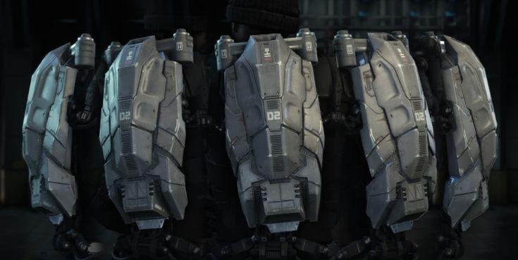 ArtStation - Exo Backpack - Call of Duty: Advanced Warfare ...