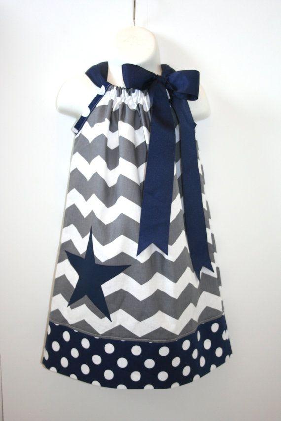 Cowboys football pillowcase dress