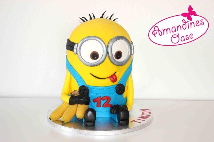 Ber Ideen Zu Minion Torten Auf Pinterest Kuchen