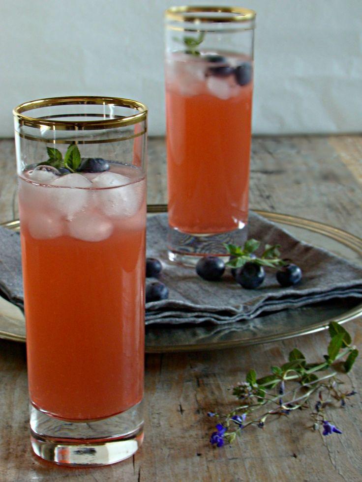 limonata ai lamponi