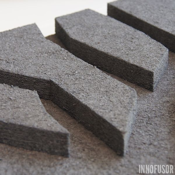 The acoustic material used in Silent Trees acoustic wall panels is surface peat moss. It is 100% ecological and acoustically ultra-effective (class A) with a unique visual texture. See more at www.innofusor.com #Scandinavian #Design #acoustics #Innofusor