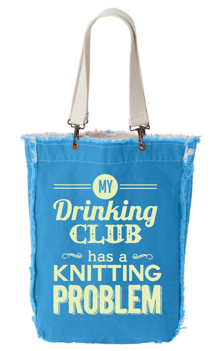 Knitting Club Meme : My drinking club has a knitting problem — knerdshop