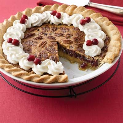 Cranberry Pecan Pie Recipe from Land O'Lakes