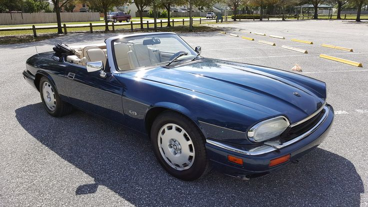 1996 Jaguar XJS Convertible presented as Lot T28 at Louisville, KY