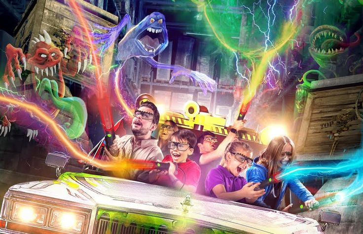 #Triotech Partners Merlin Entertainments and #HeidePark to Create #Ghostbusters #5D Dark Ride