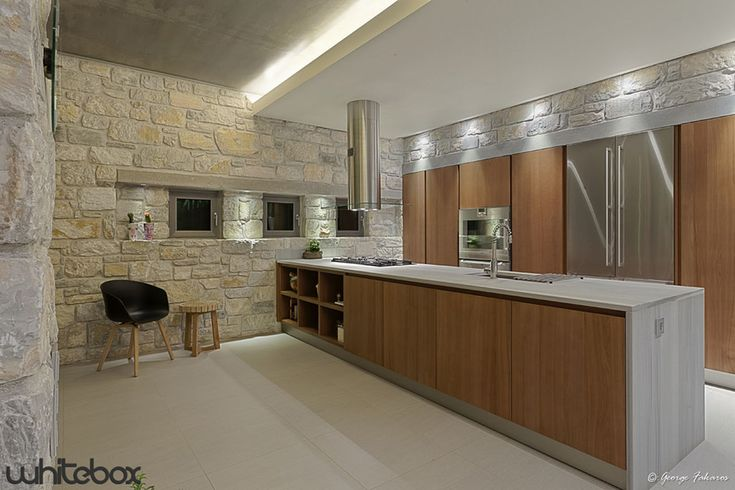 Stone House in Anavissos  Kitchen
