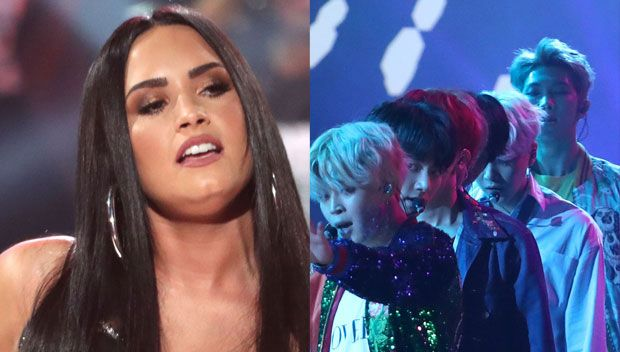 """Are Demi Lovato & BTS Feuding After The AMAs? Why Their Fans Are Going Wild After The Award Show https://tmbw.news/are-demi-lovato-bts-feuding-after-the-amas-why-their-fans-are-going-wild-after-the-award-show  November 20, 2017 12:29AMSo awkward. There is a feud brewing online between Demi Lovato and Korean pop sensation BTS. But is it real? Keep reading and we will break down this beef circling the 2017 AMAs.""""I think that this is the AMERICAN music awards, and we should only celebrate…"""