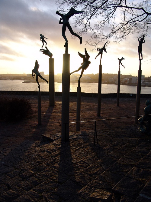 Milles Garden, Lidingo Island, near Stockholm, Sweden, by Carl Milles in 1908  (photo by Adan Cabello)