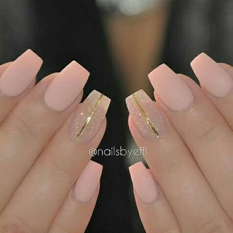 Pastel Pink Matte Nails Nail Art In 2018 Pinterest Acrylic And Designs