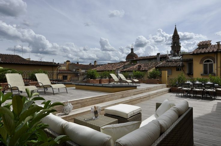 terrazza Terraces Roof idee : TERRAZZA-1200 - Prestigious Florence Apartment with Roof Terrace ...