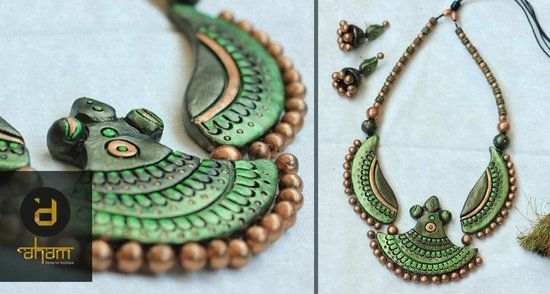 terracotta jewellery - Google Search
