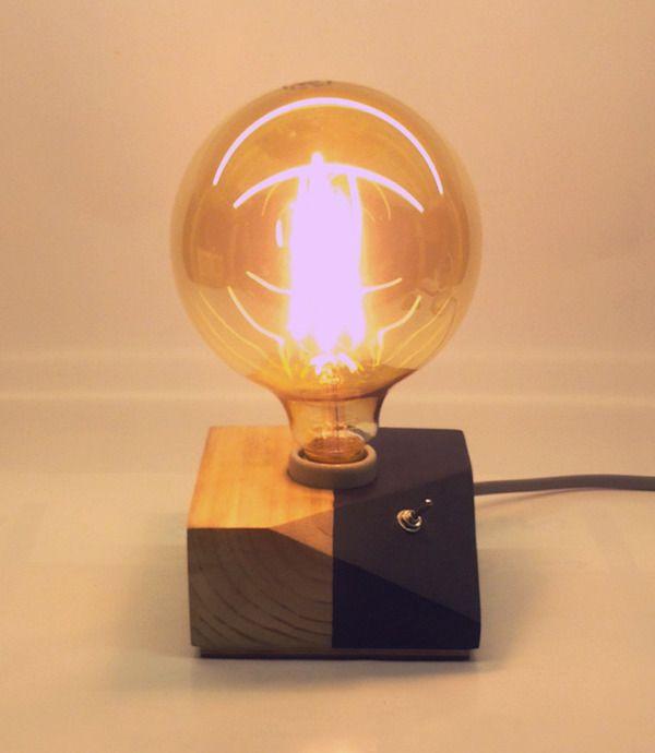 다음정류장 :: Wood block Lights _ 경사 블럭 라이트 _ LED조명 _ DIY