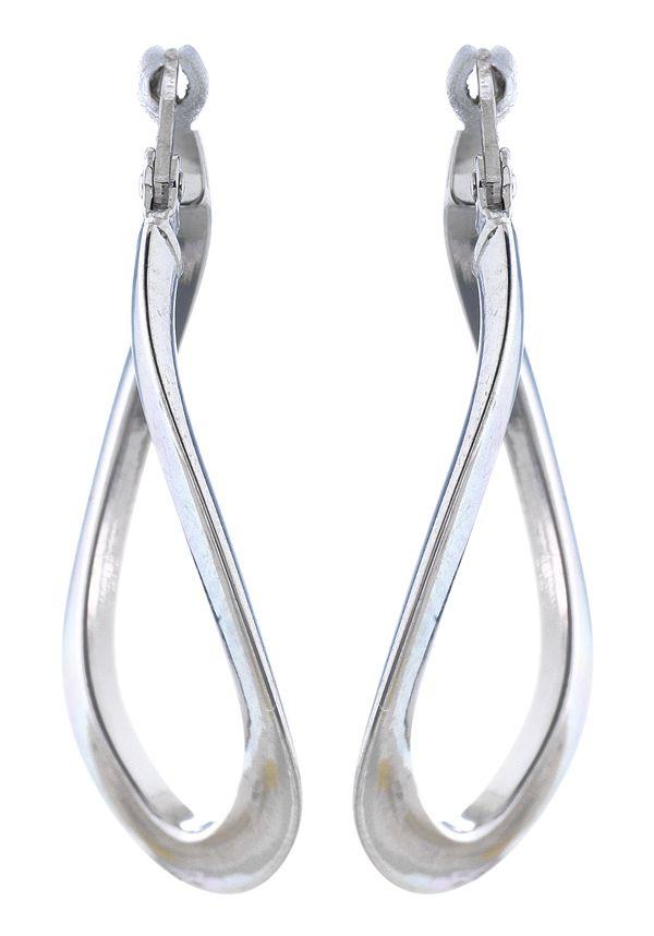 Créoles en or gris 375/1000 #jeandelatour_officiel #bijoux #bijouterie #bijoutier #boucles #bijouxfrance