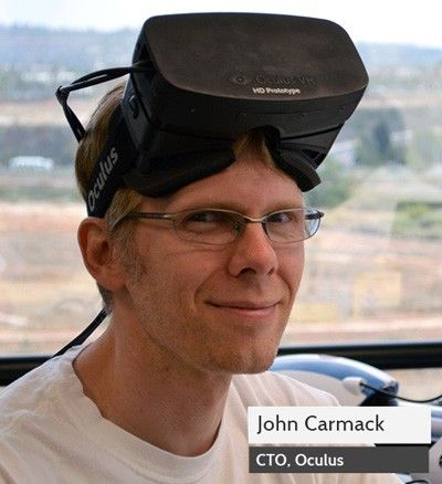 Oculus Rift hires Doom co-creator John Carmack as Chief Technology Officer