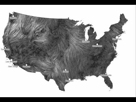 Watch Interactive Wind Map Will Blow You Away