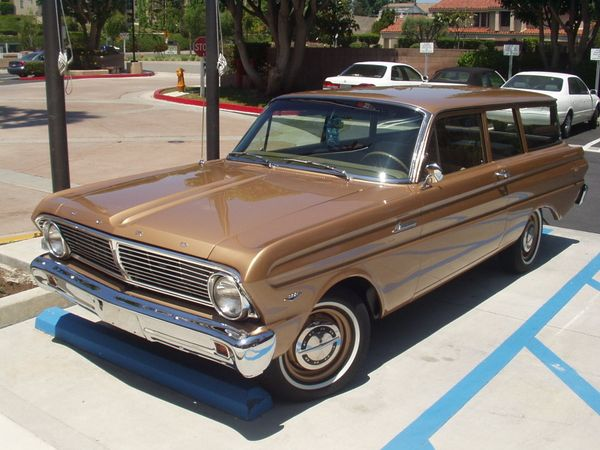 1965 falcon tudor wagon