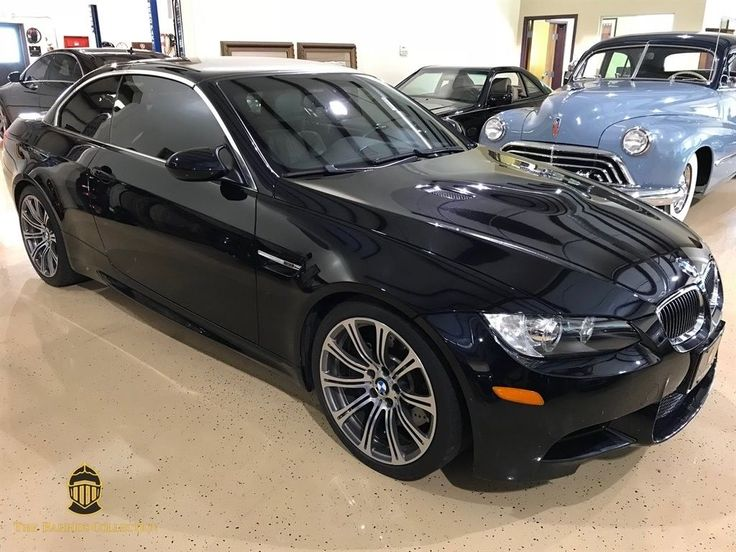 Nice Great 2008 BMW M3 -- 2008 BMW M3  Black 2d Convertible  6 Speed 2018