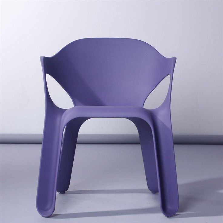 Plastic Children Chair Purple Garden Outdoor Nursery Playroom Bedroom Furniture