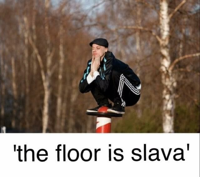 I Bring You The Best In Slavic Games Slavs Squatting With