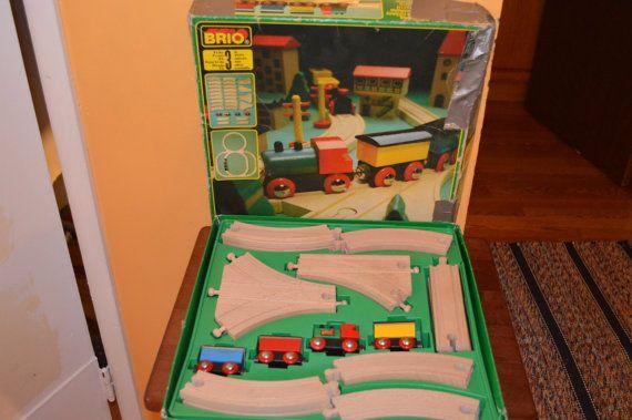BRIO 3140 31404/40 vintage TRAIN SETwith by KNIGHTLYTREASURES