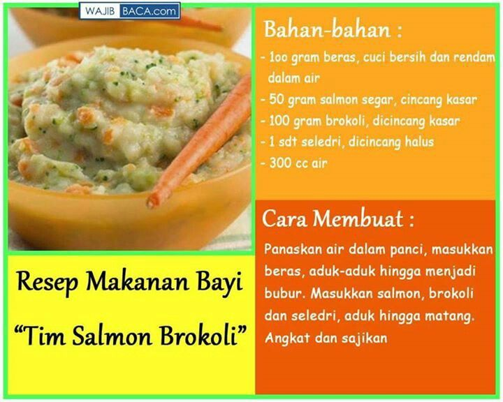 Tim salmon brokoli