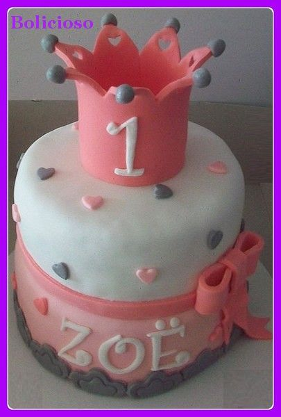 taart met kroon / cake with crown https://www.facebook.com/bolicioso