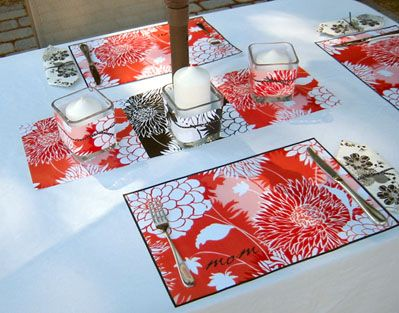 23 best images about placemats on pinterest fat quarters for Table mats design your own