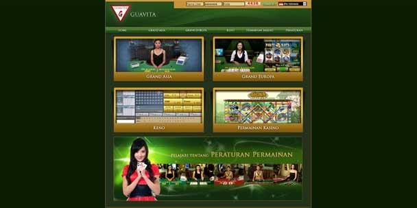 Agen Casino mempersembahkan produk unggulan GUAVITA,dimana merupakan website penyelenggara permainan Casino Online yang menyediakan permainan roullete,baccarat, sic bo,keno,maupun Dragon Tiger.