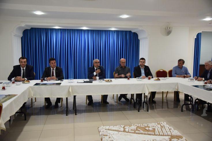 """Odamız Yönetim Kurulu Başkan Yardımcısı Hüseyin Ersoy """"Kent Parkı Toplantısı""""na Katıldı"""