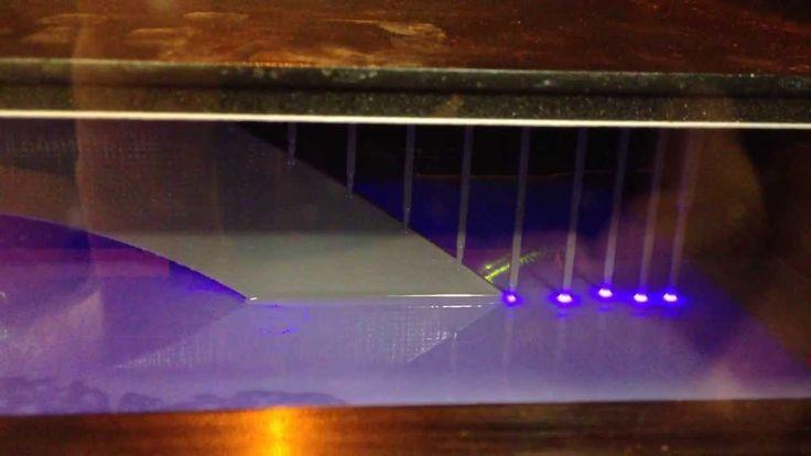 ProJet 150 - 3D printer that uses liquid plastic UV cured