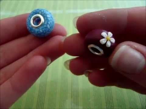 [Tutorial] Pandora Bead (Polymer Clay/Fimo)