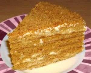 Simple honey cake