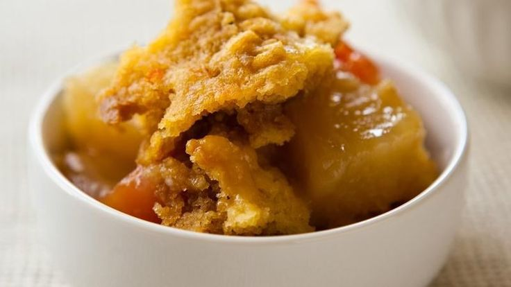 Blogger Angie McGowan of  Eclectic Recipes shares a tropical slow cooker dessert recipe.