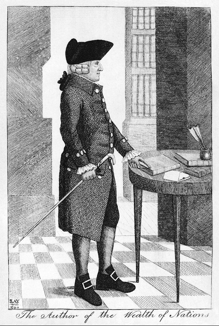 John Kay, Adam Smith, 1790