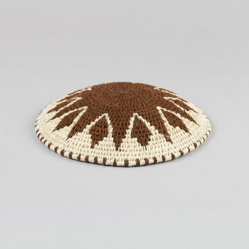 Decorative Sisal basket / Back of plate #4