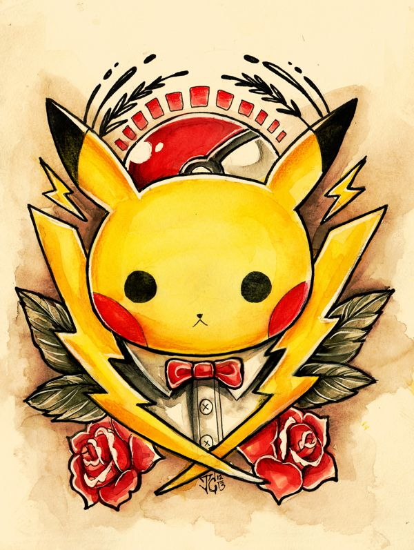 Pokemon Tattoo Designs - Created by Jazmin Castillo