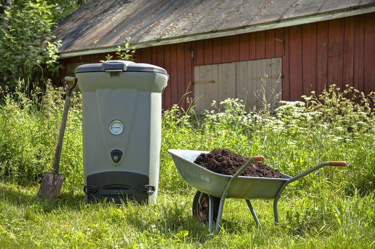 Biolan Pikakompostori 220eco on kompostori keittiöjätteen ympärivuotiseen kompostointiin. Lämpöeristetty rakenne ja tehokas ilmanvaihtojärjestelmä tuottavat kompostia nopeasti.