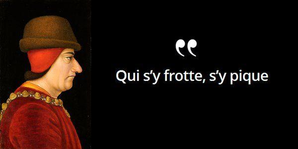 De quel #roi est-ce la devise ? Détesté des grands féodaux, il passe pour égoïste #histoire de #France en #citations
