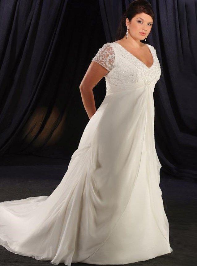 Открытое свадебное платье с экстравагантным кроем создает привлекательный А-силуэт и позволяет подчеркнуть индивидуальность невесты.