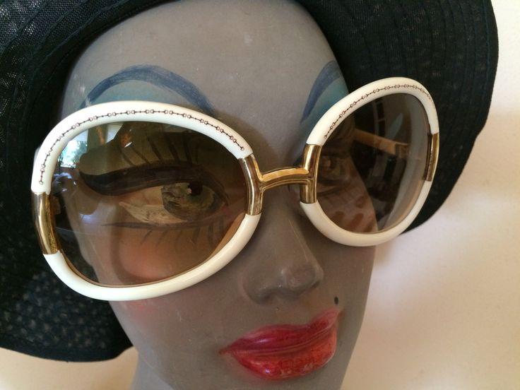 Ted Lapidus occhiali da sole oversize, originali anni 70, trendy di agosto by inlove4vintage on Etsy