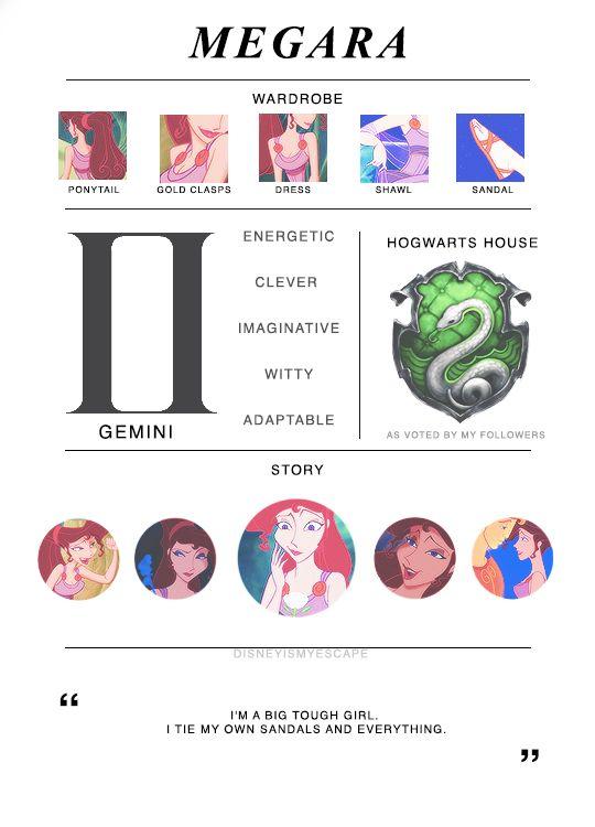 Disney Heroine Mood Boards ❥ Megara