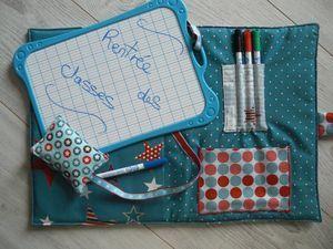 La pochette ardoise : le tutoriel !!!! - Chipie Couture