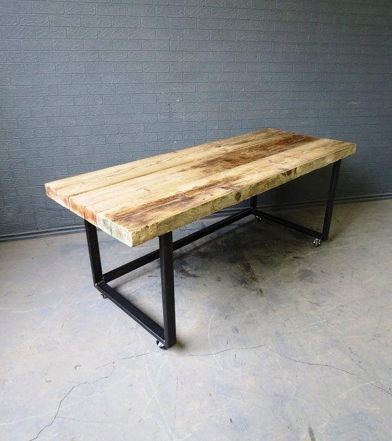 custom office desks. Industrial Chic Reclaimed Custom Office Desk By RccFurniture Desks R