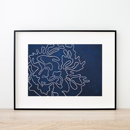 Voyage Art Print by Hues & Fables